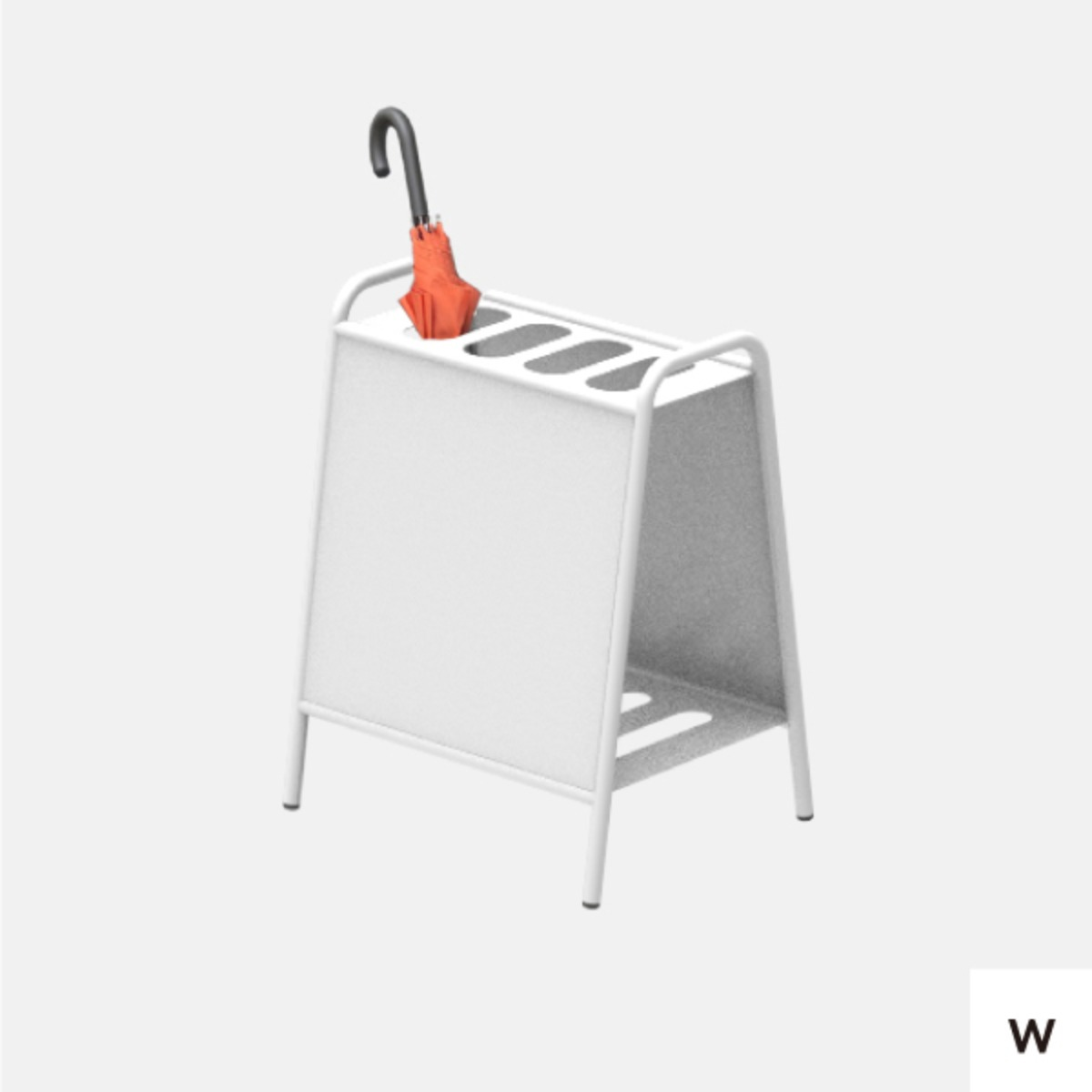 WELCOME UMBRELLA STAND S WHITE | 시트지 없음